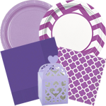 Purple Party Supplies