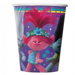 TROLLS World Tour 2020 PLASTIC TABLE COVER 1ct ~Birthday Party Supplies Cloth