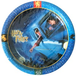 Harry Potter u0027Chamber of Secretsu0027 Large Paper Plates ...  sc 1 st  Hard To Find Party Supplies & Harry Potter u0027Mascotsu0027 9oz Paper Cups (8ct)