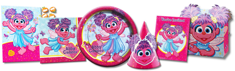 Abby Cadabby Hard To Find Party Supplies