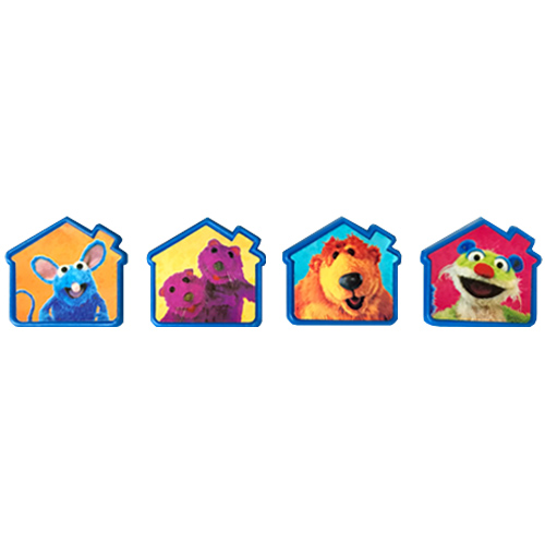 Bear In The Big Blue House Cupcake Rings Favors 8pc