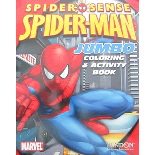 Spider Man Spider Sense Giant Coloring And Activity Book