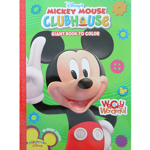 Mickey Mouse Clubhouse Wacky Is Wonderful Giant Coloring