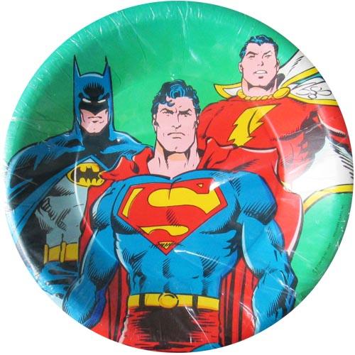 DC Heroes Vintage 1987 'Batman, Superman, And Captain