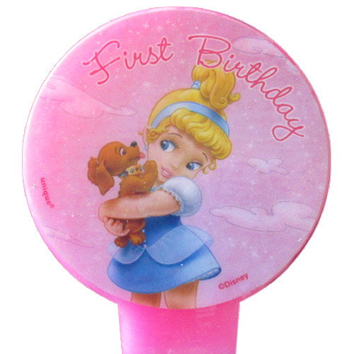 Disney Princess Baby 1st Birthday Cake Candle (1ct