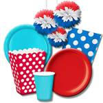 Red White and Blue Party Supplies