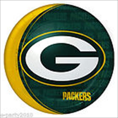 NFL Green Bay Packers Large Paper Plates (8ct