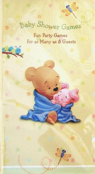 Winnie The Pooh Baby Days Baby Shower Game Book 1ct
