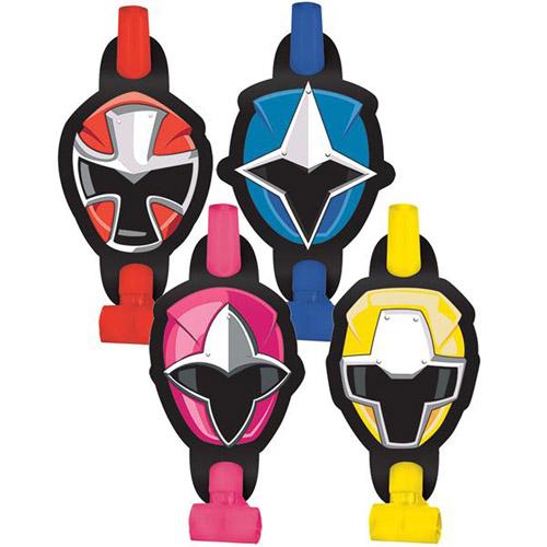 Power Rangers Ninja Steel Blowouts Favors 8ct