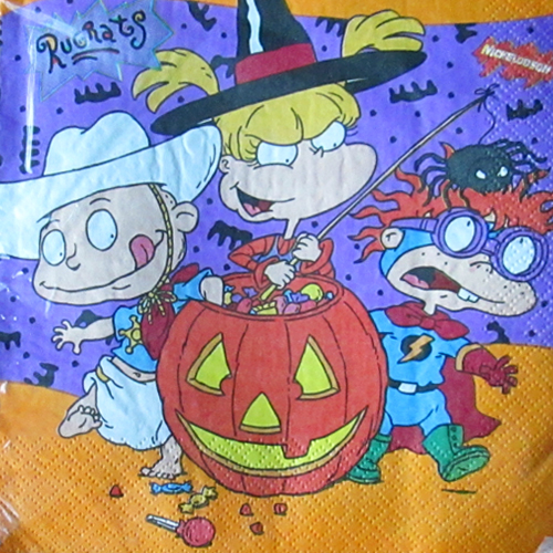 Rugrats Halloween Lunch Napkins 16ct