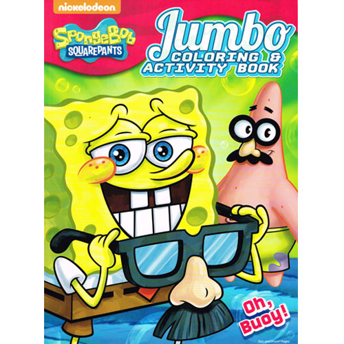 Spongebob Squarepants Oh Buoy Giant Coloring And