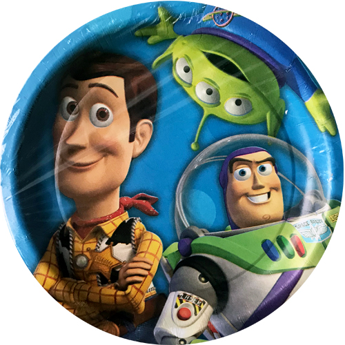 Toy Story 3 Small Paper Plates 8ct  sc 1 st  Castrophotos & Toy Story Paper Plates - Castrophotos